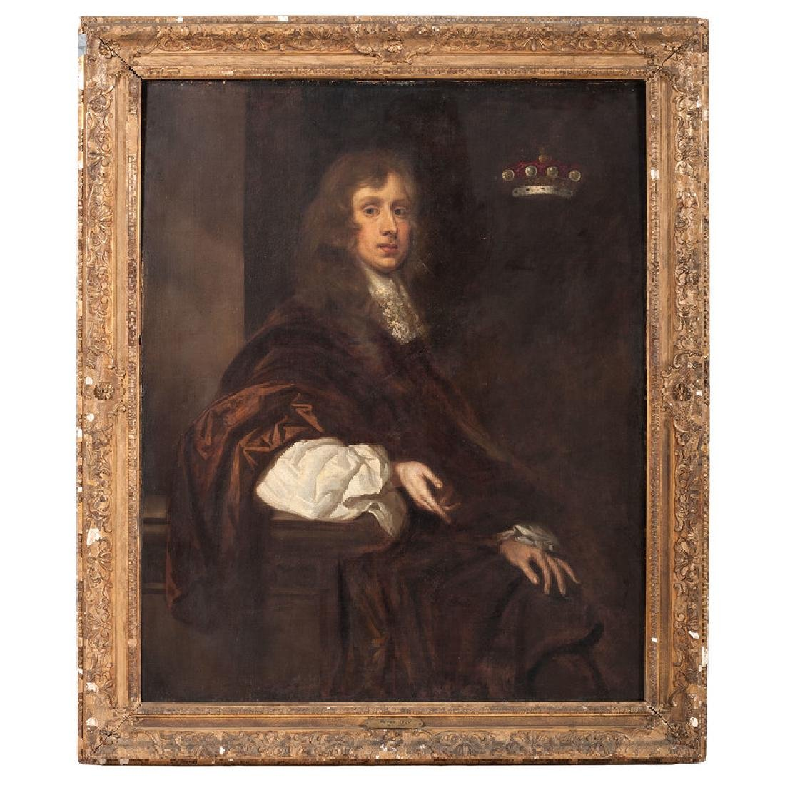 School of Peter Lely, Portrait of Sir Thomas Crew,