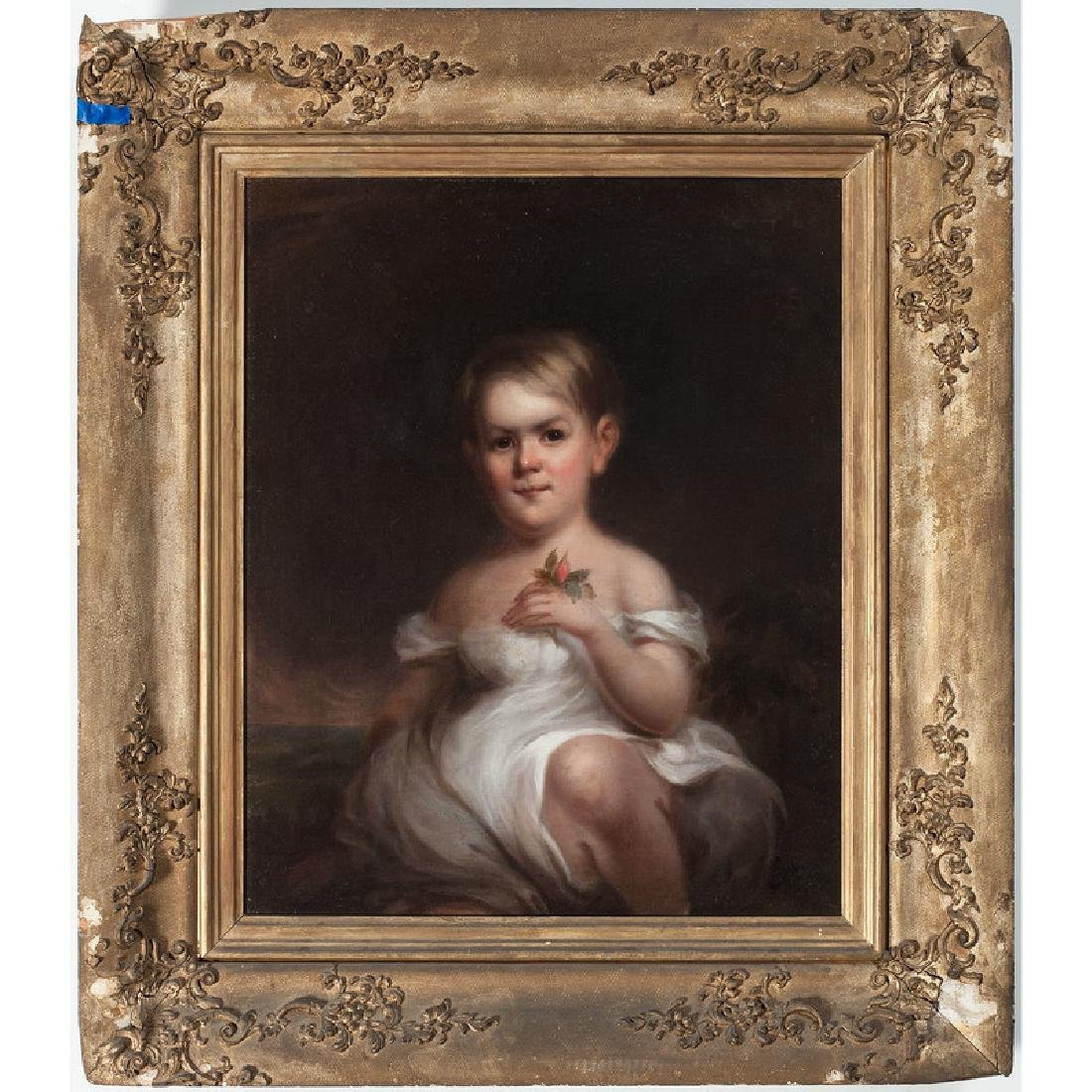Portrait of a Child, Manner of Thomas Sully