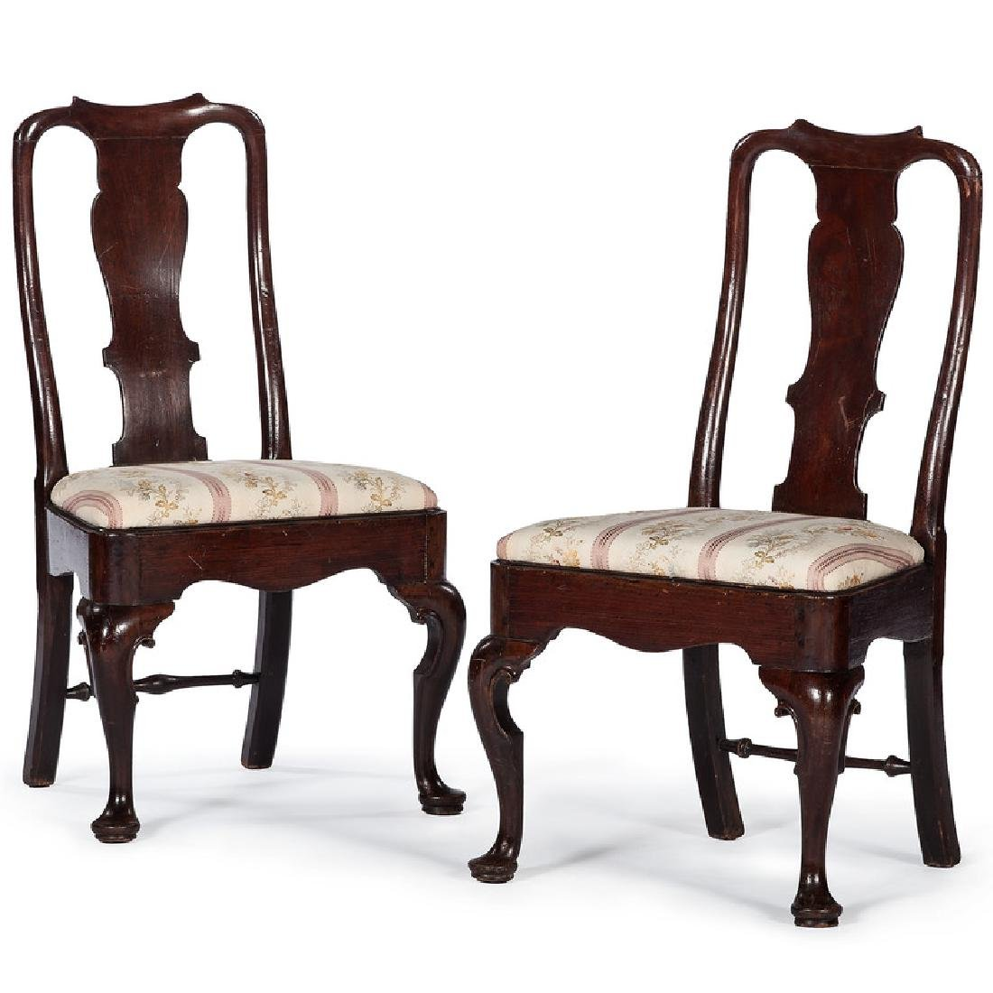 Queen Anne Mahogany Side Chairs