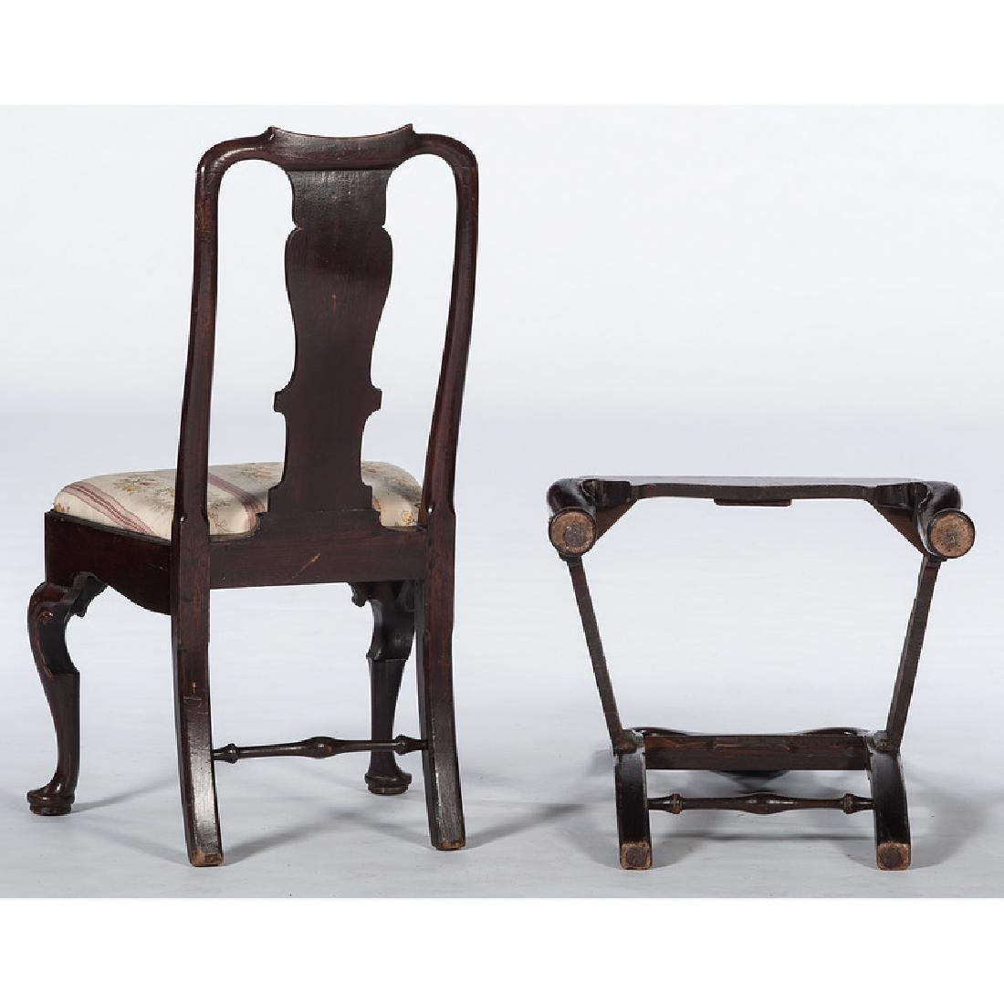 Queen Anne Mahogany Side Chairs - 2