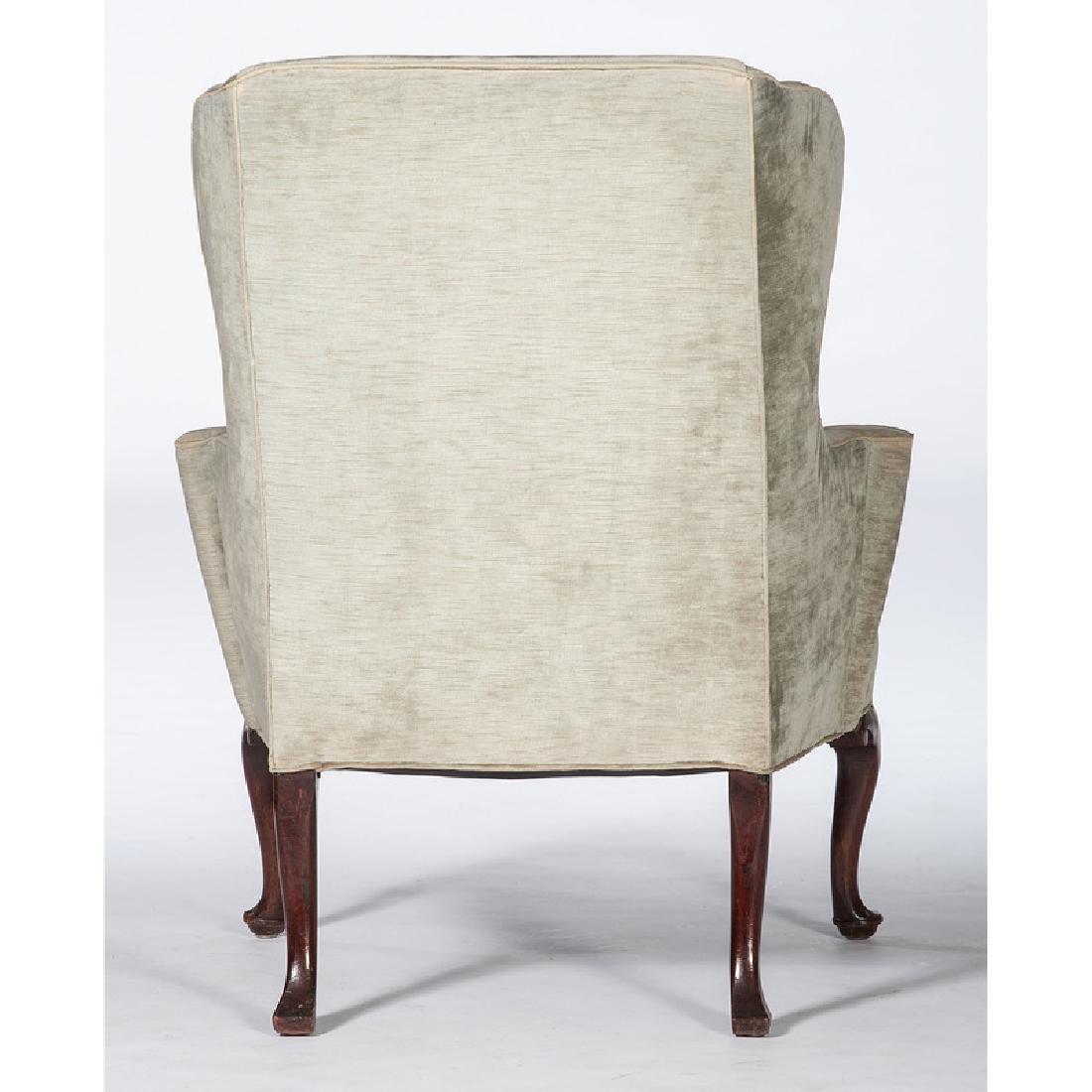 George I Walnut Easy Chair - 3
