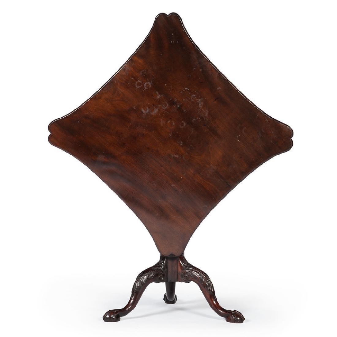 George III Tilt Top Tea Table