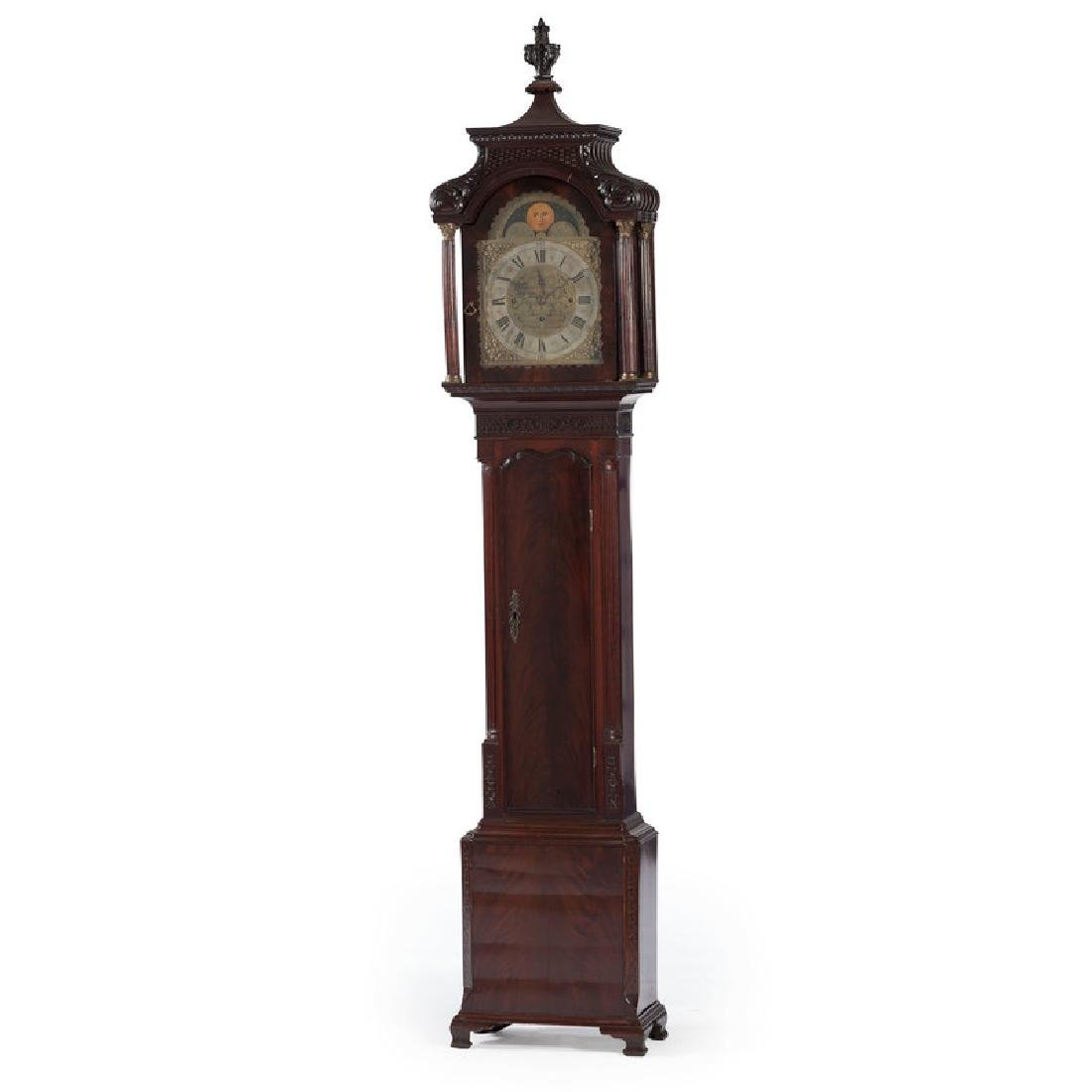 Chippendale Tall Case Clock by William Smith