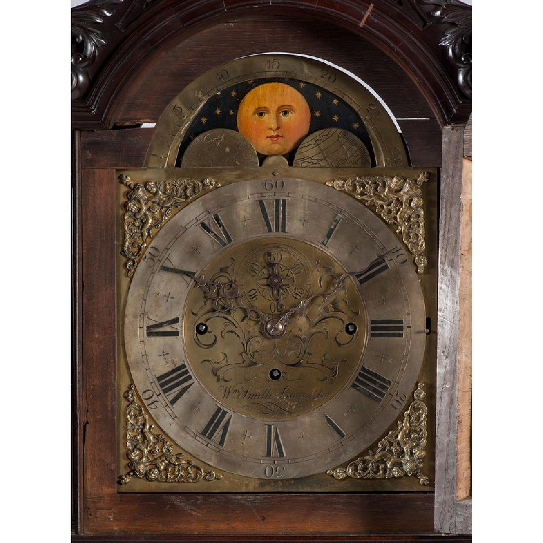 Chippendale Tall Case Clock by William Smith - 2