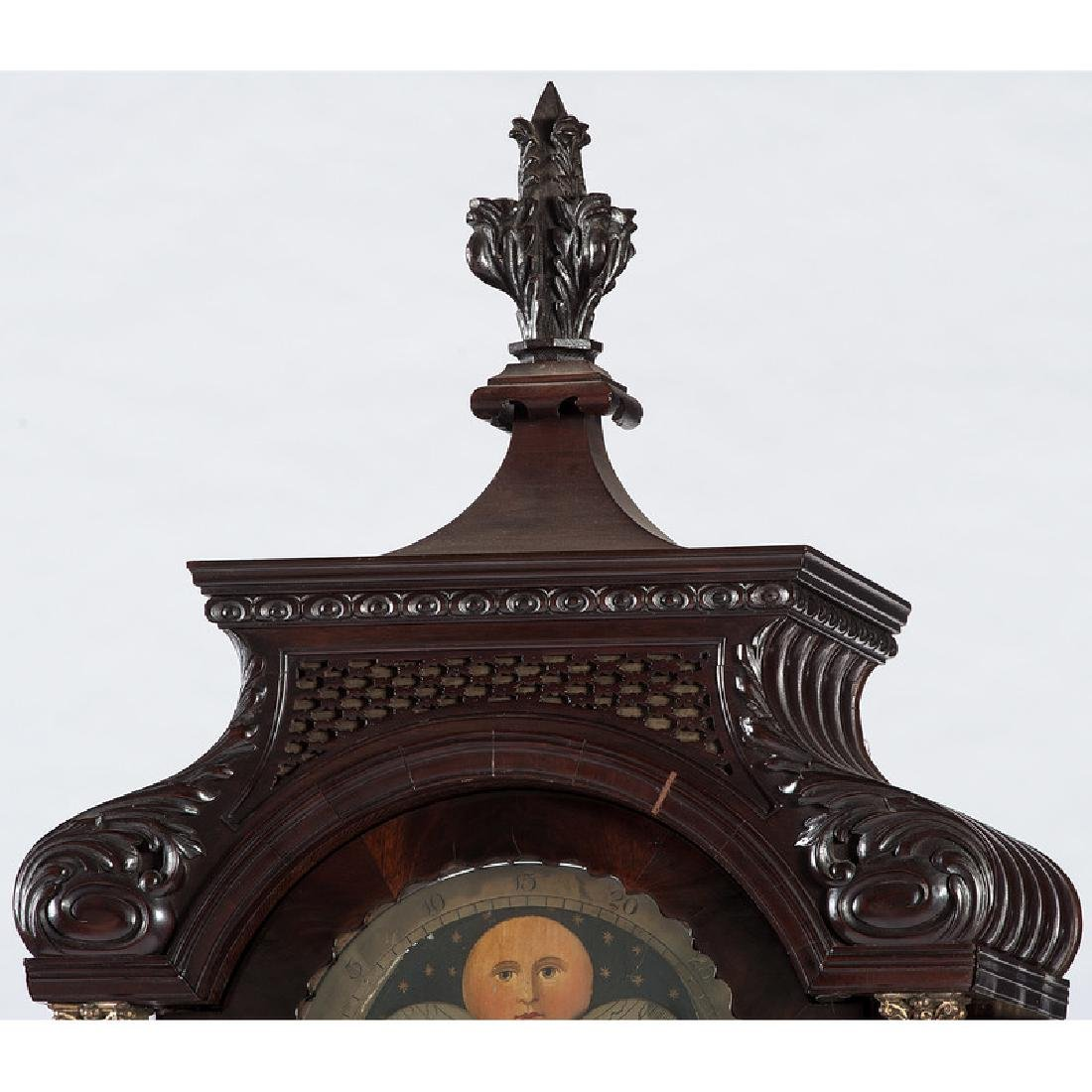 Chippendale Tall Case Clock by William Smith - 4
