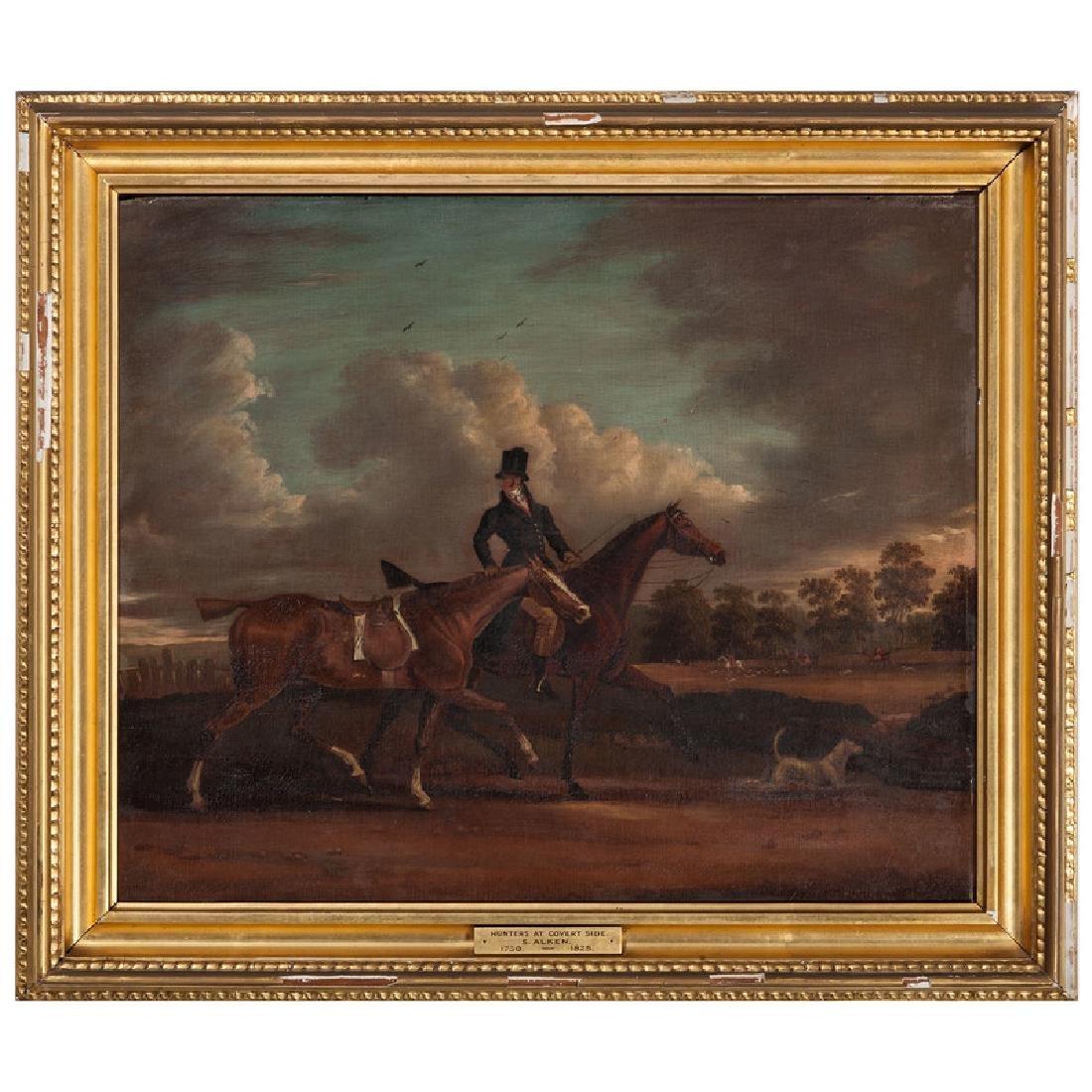Hunting Scene Attributed to Samuel Alken
