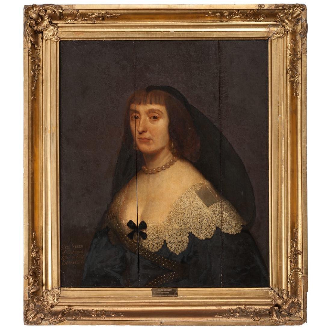 Attributed to Gerrit van Honthorst, Portrait of