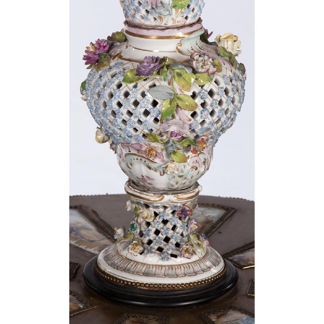 Carl Thieme Porcelain Floor Lamp - 10