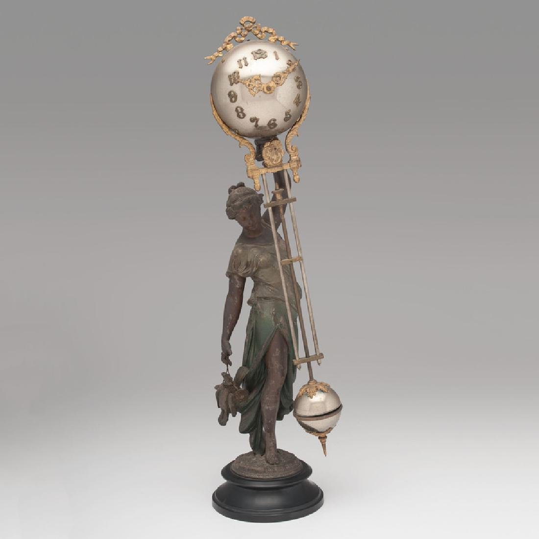 Ansonia Swing Clock, Huntress