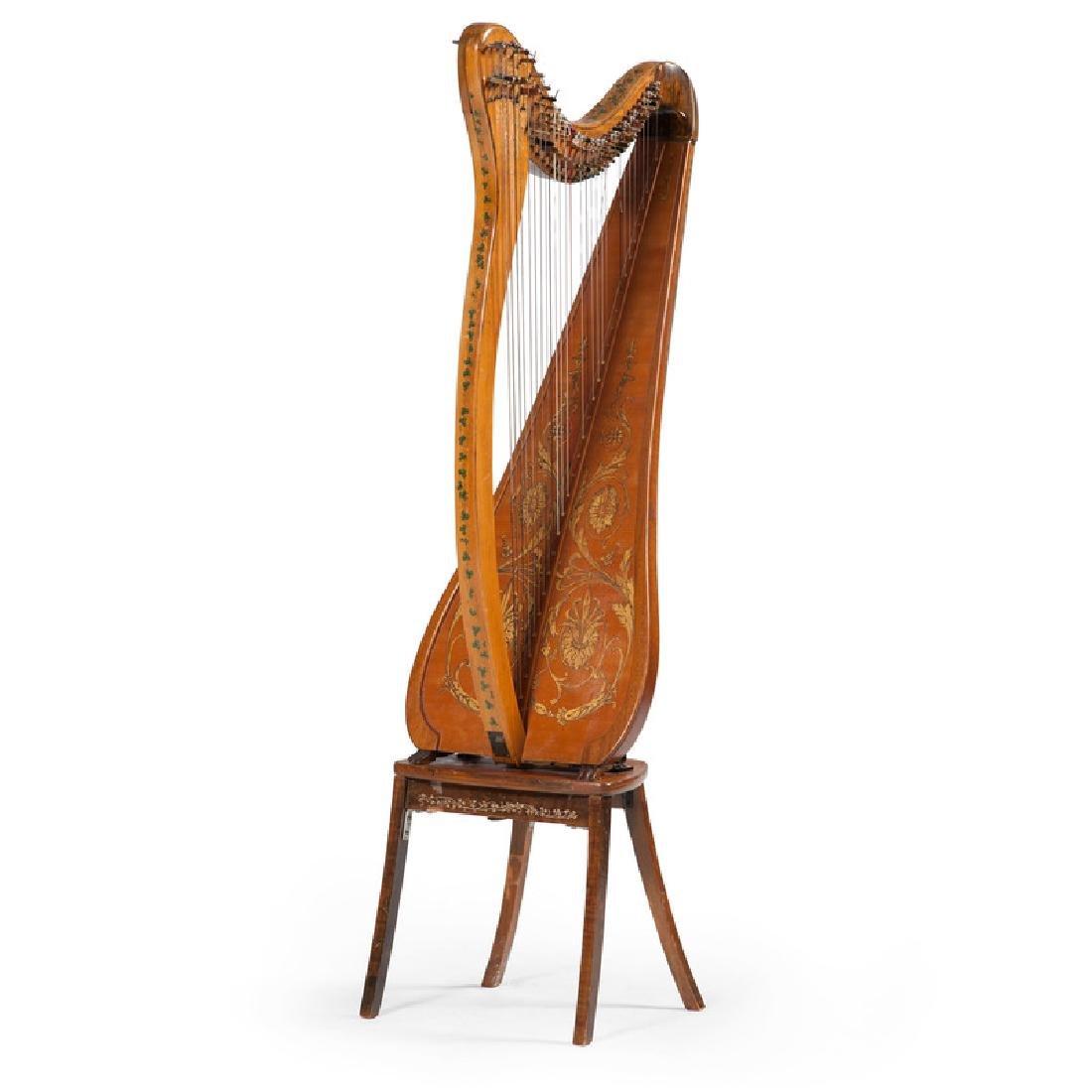 Clark Irish Harp by Lyon & Healy