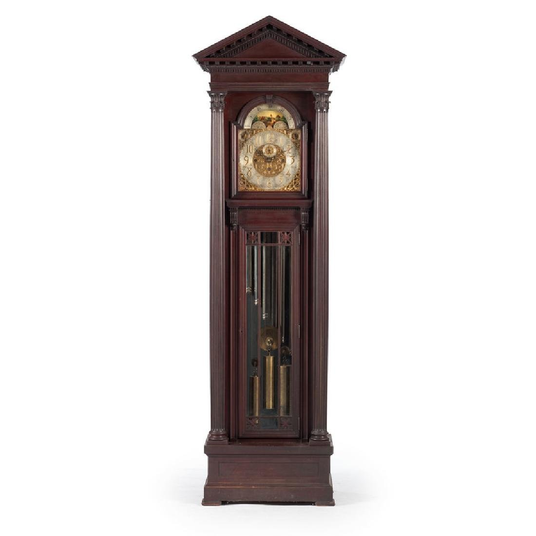 Herschede No. 122 Nine-Tube Tall Case Clock