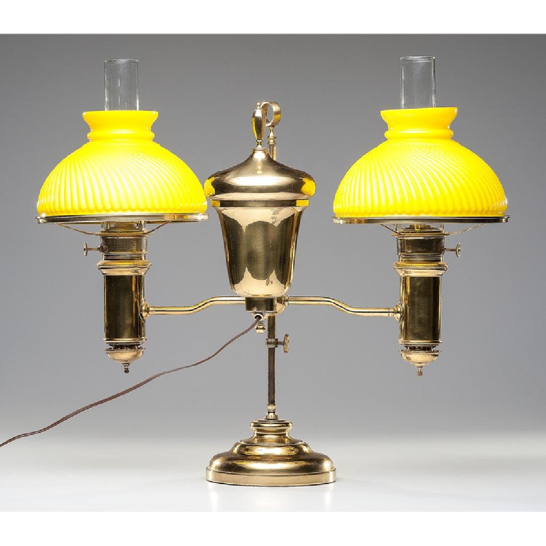 Edward Miller Double Student Lamp - 2