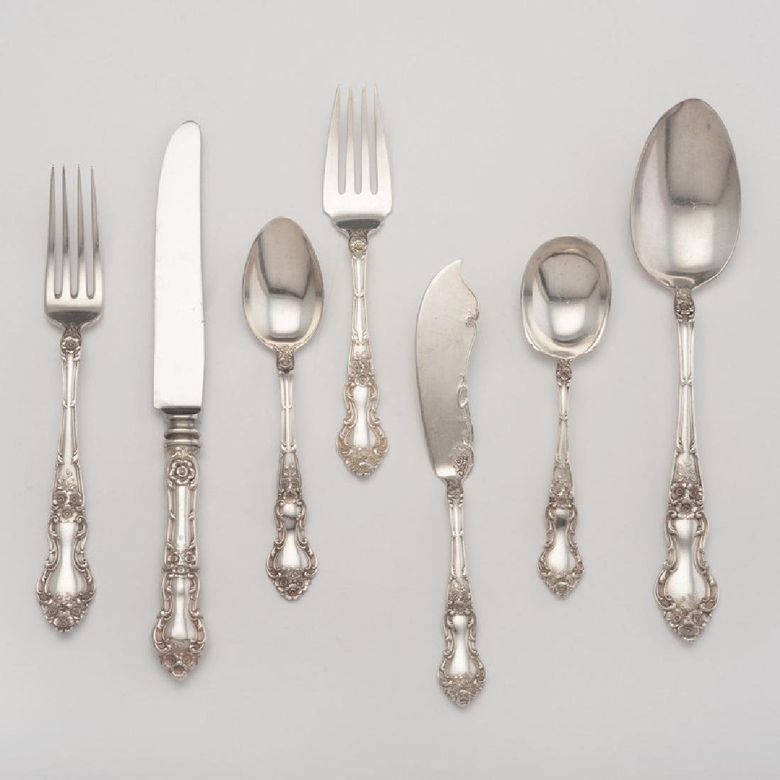 Watson Company Sterling Flatware, Meadow Rose