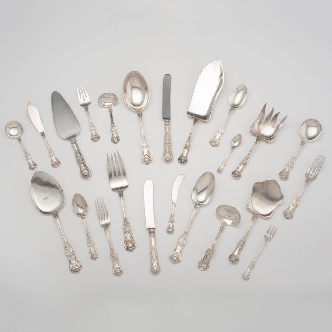 Dominick & Haff & Gorham Sterling Flatware, Retailed by