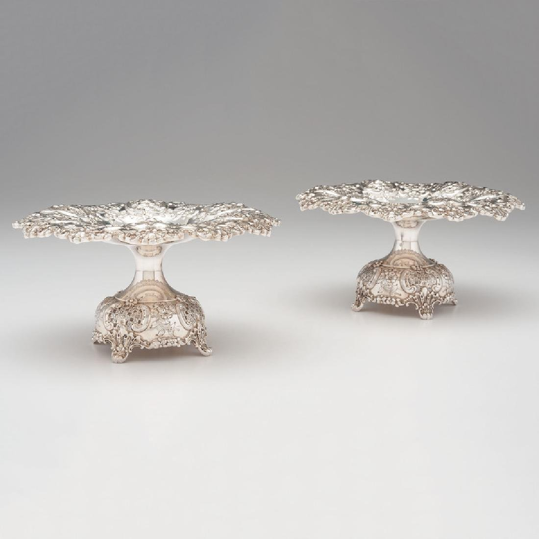 Tiffany & Co. Sterling Silver Compotes