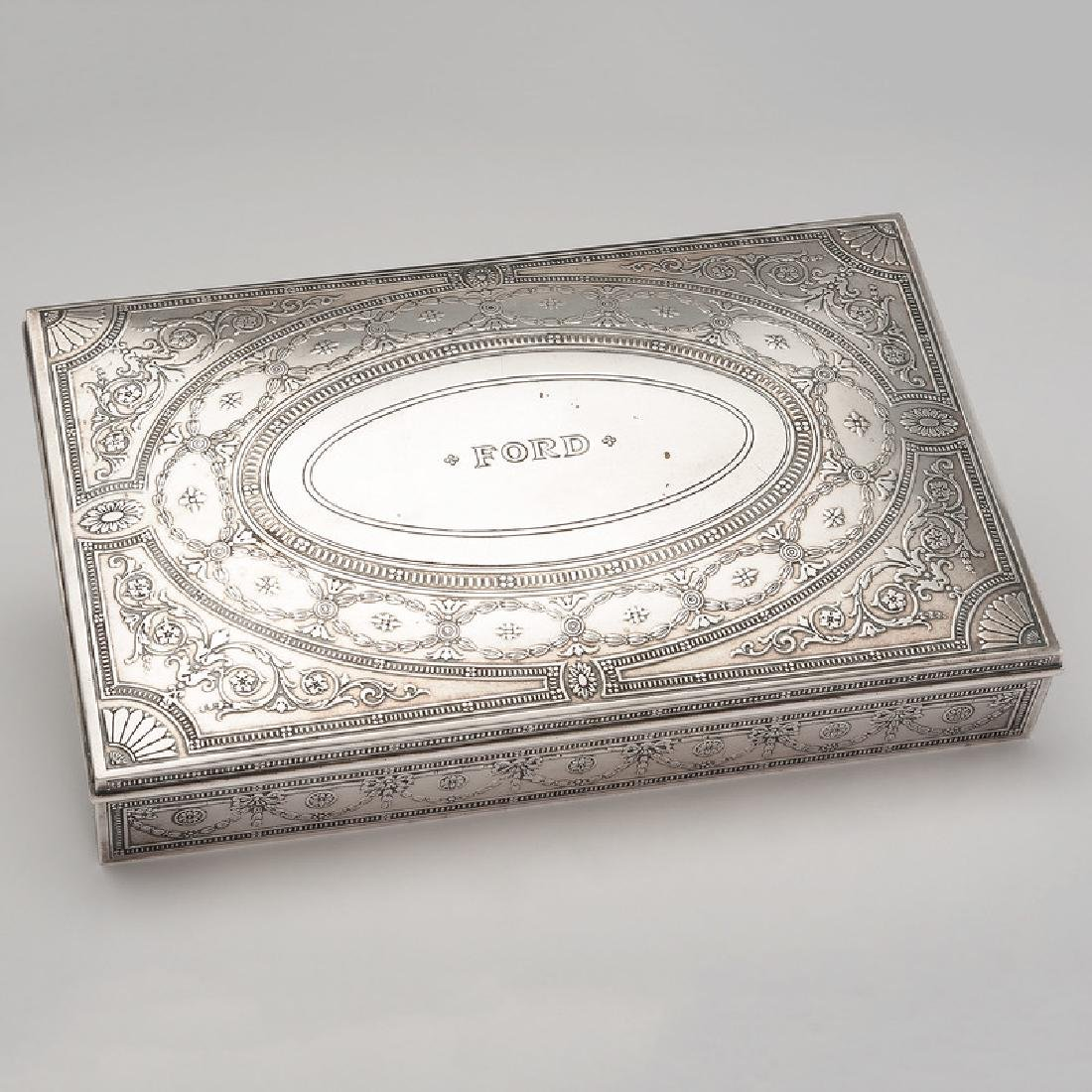 Tiffany & Co. Sterling Cigar Box