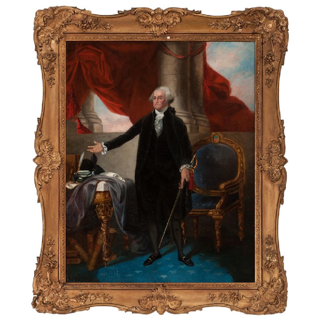 After Gilbert Stuart, Portrait of George Washington,