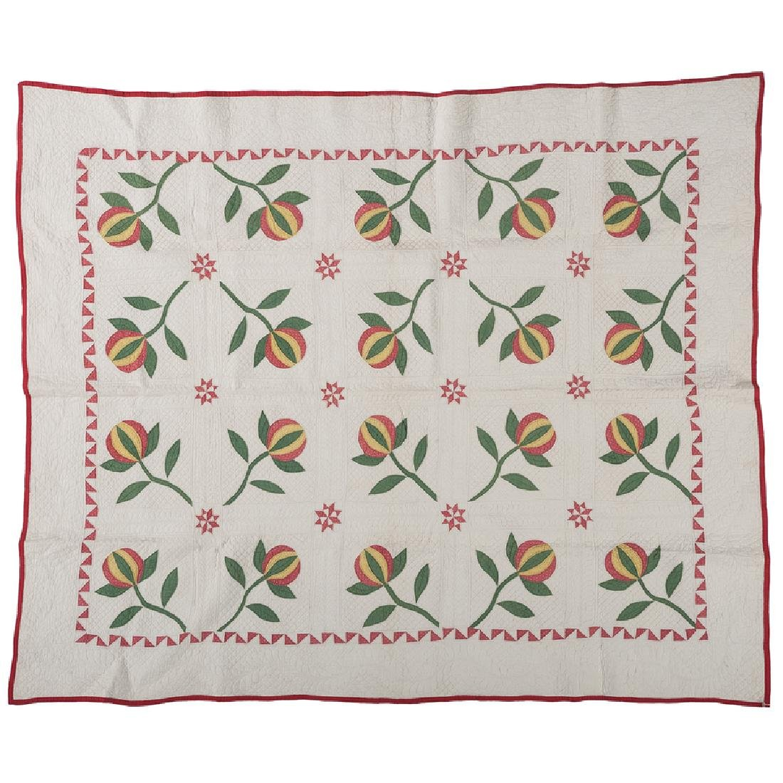 Love Apple Quilt