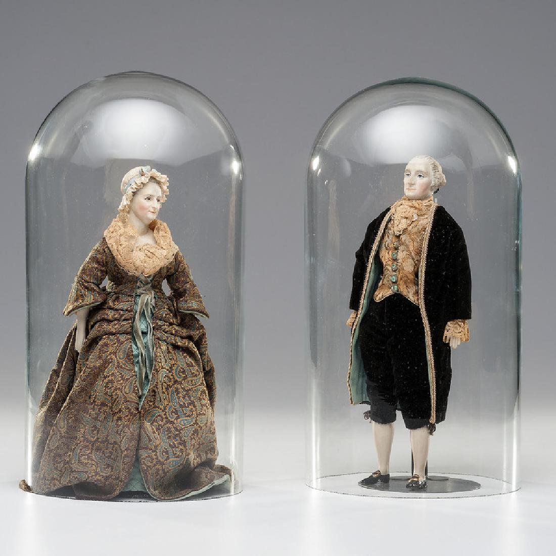 George and Martha Washington Dolls by Martha Thompson