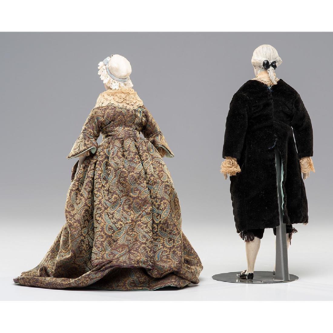 George and Martha Washington Dolls by Martha Thompson - 4