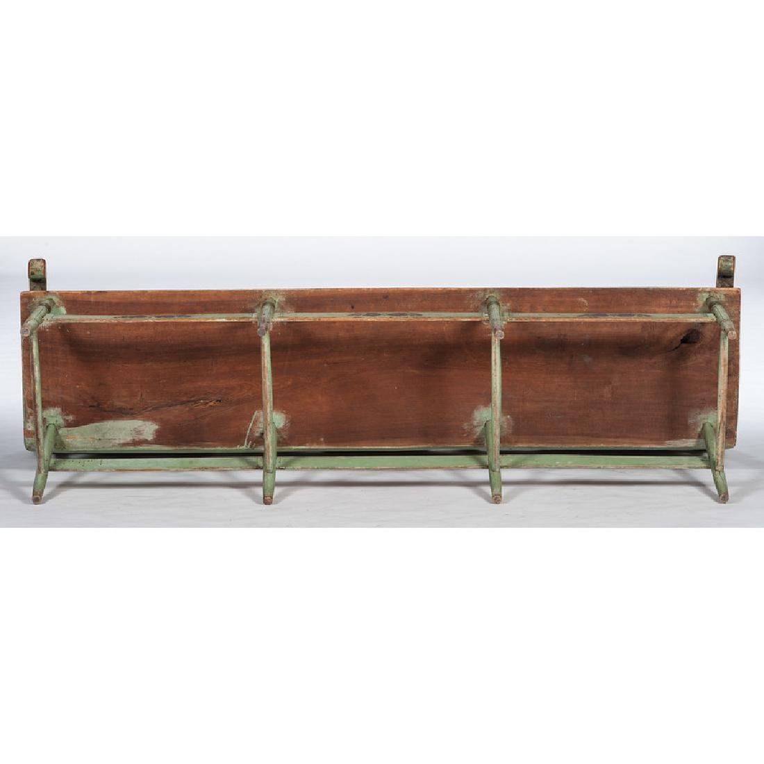 Painted Pennsylvania Settle Bench - 2