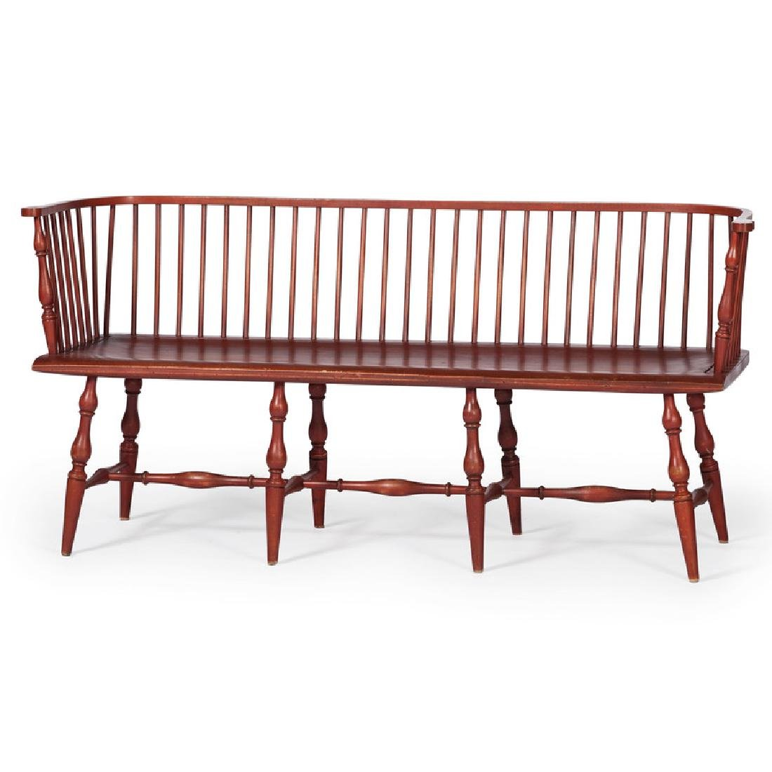 David T. Smith Settle Bench