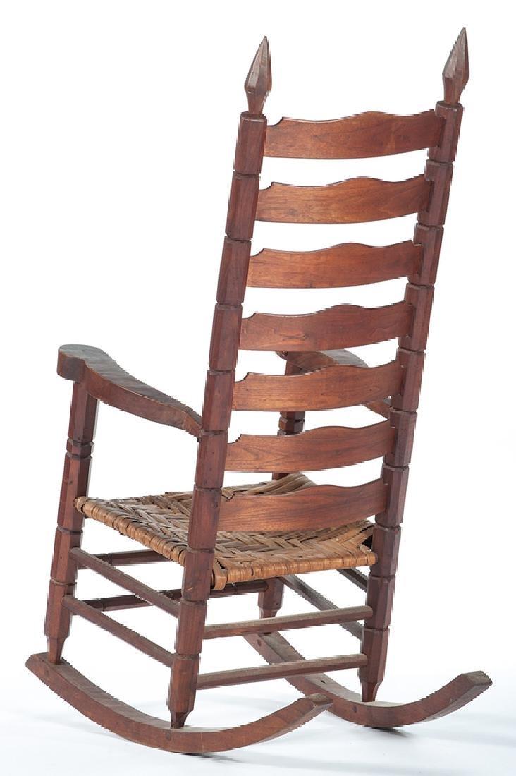 Chester Cornett Folk Art Rocking Chair - 2