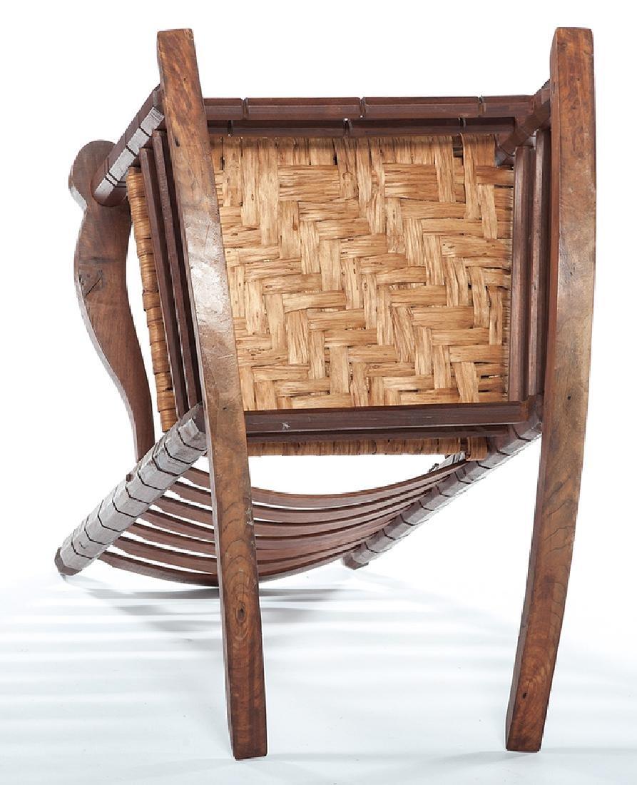 Chester Cornett Folk Art Rocking Chair - 4