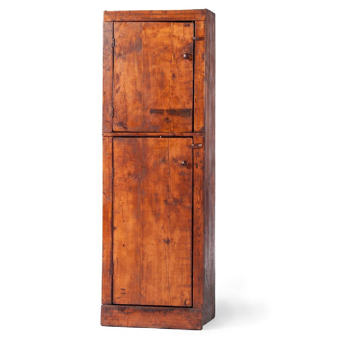 Pine Pantry Cupboard