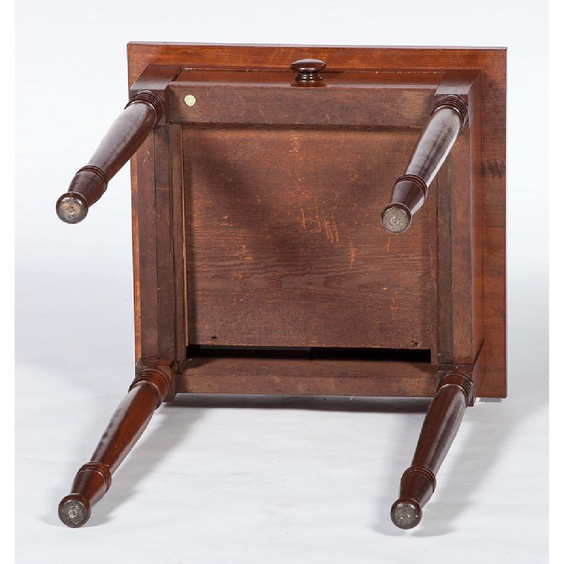 Walnut One Drawer Stand - 3