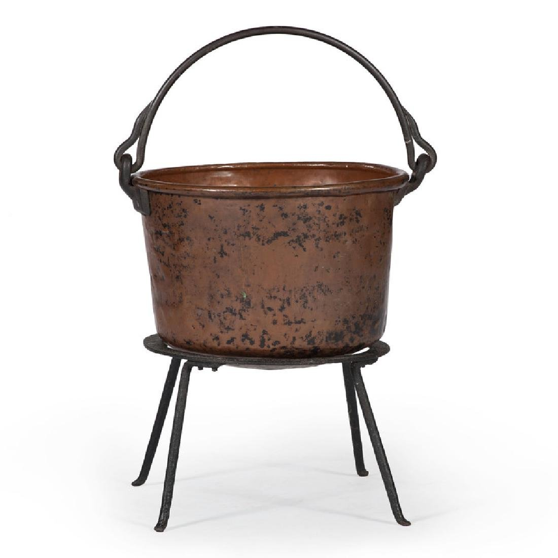 Copper Apple Butter Kettle