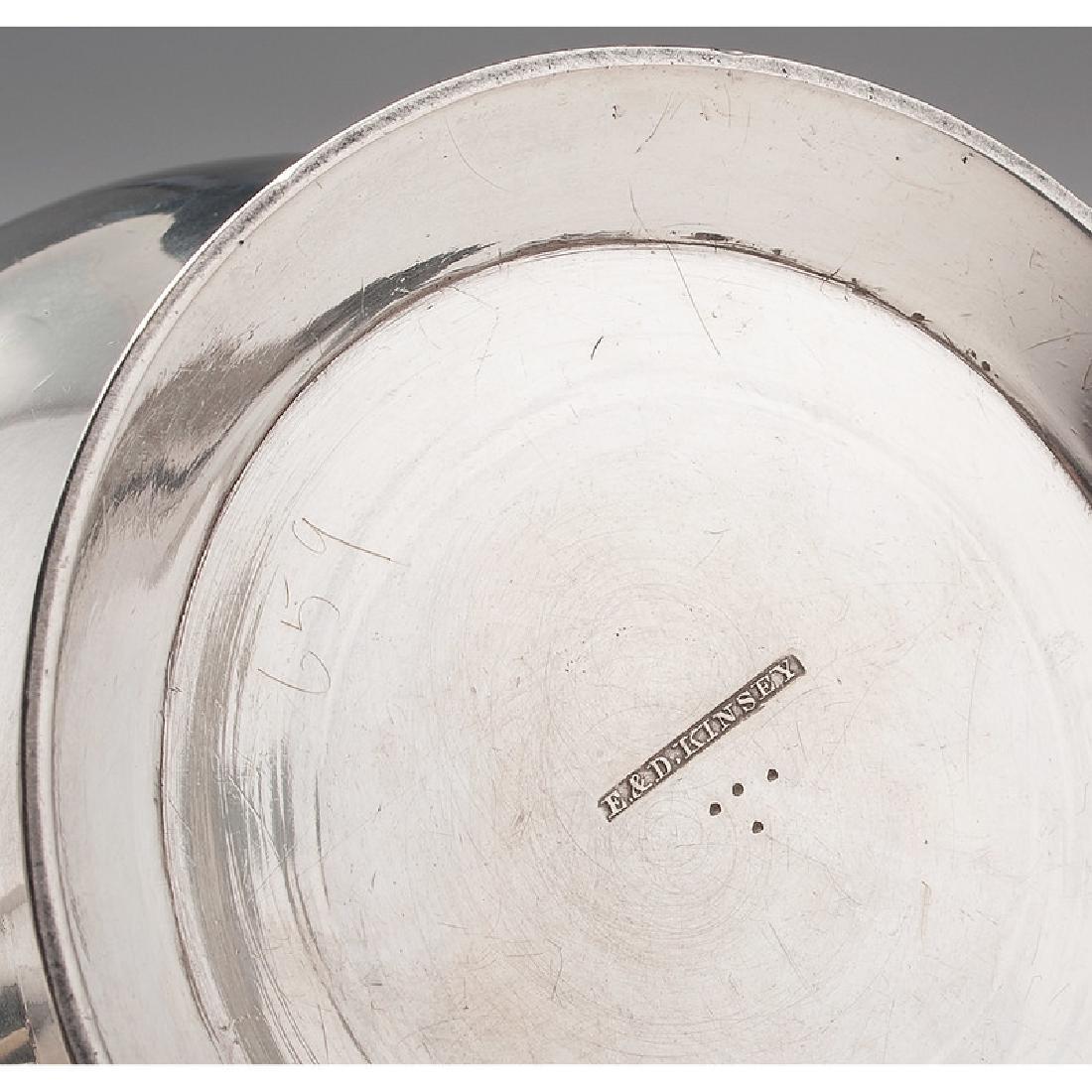 Cincinnati Assembled Coin Silver Tea Service - 3