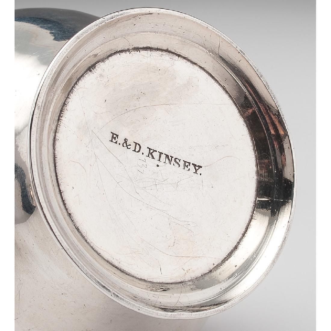 Cincinnati Assembled Coin Silver Tea Service - 4