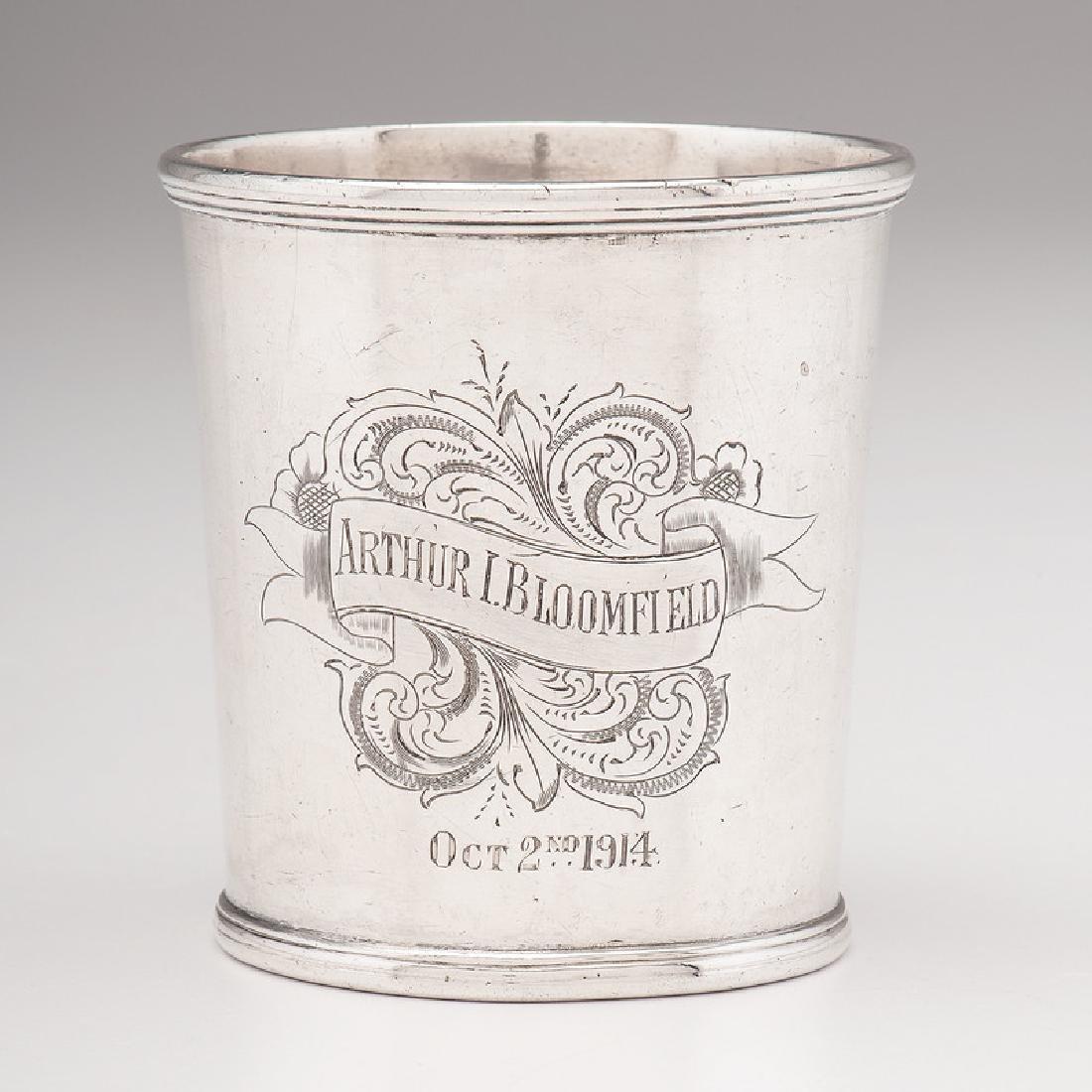 Asa Blanchard Coin Silver Julep Cup