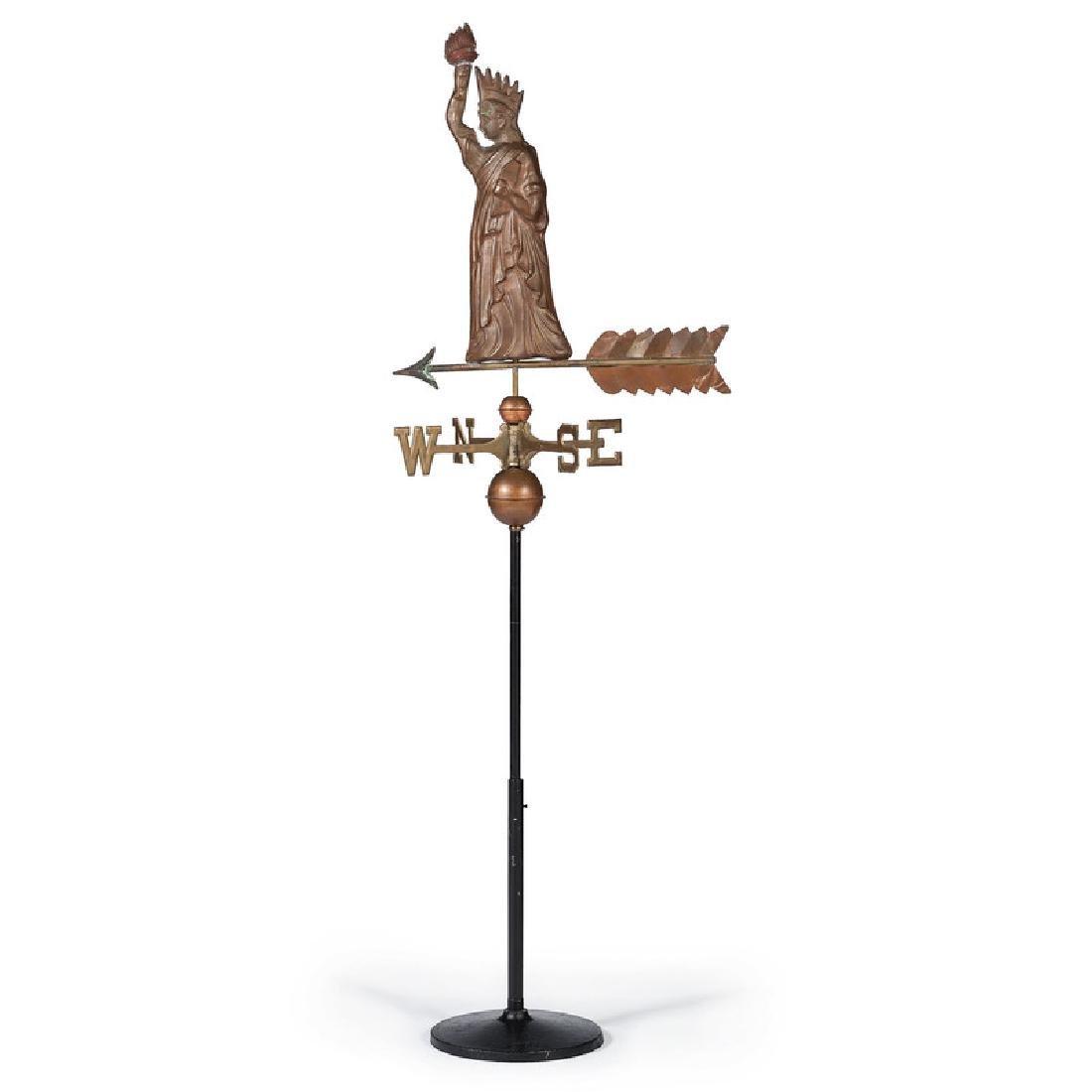 Statue of Liberty Copper Weathervane