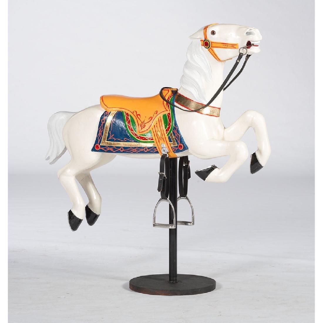 Herschell-Spillman Leaper Carousel Horse