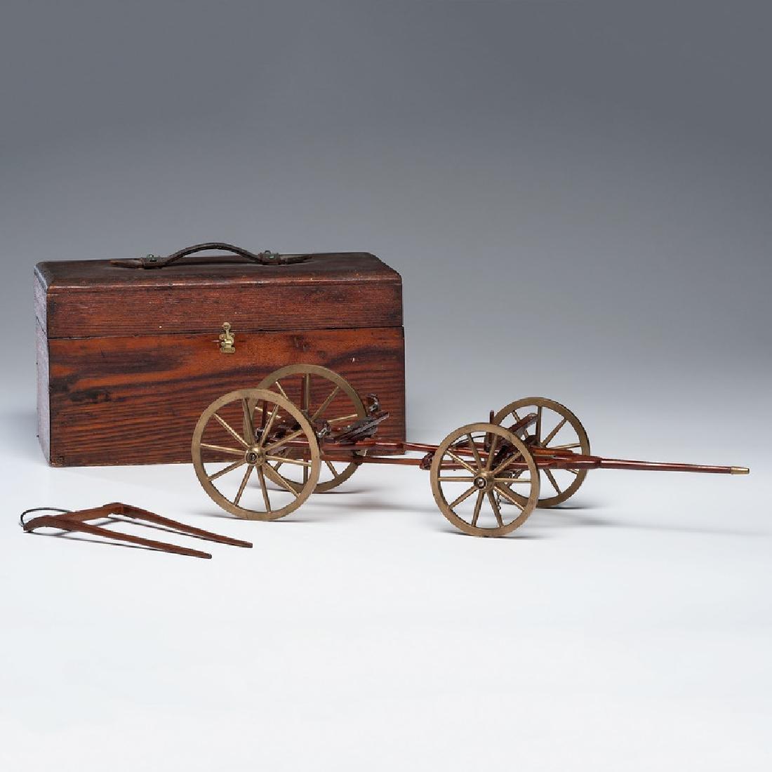 Patent Model for Self-Acting Wagon Brake