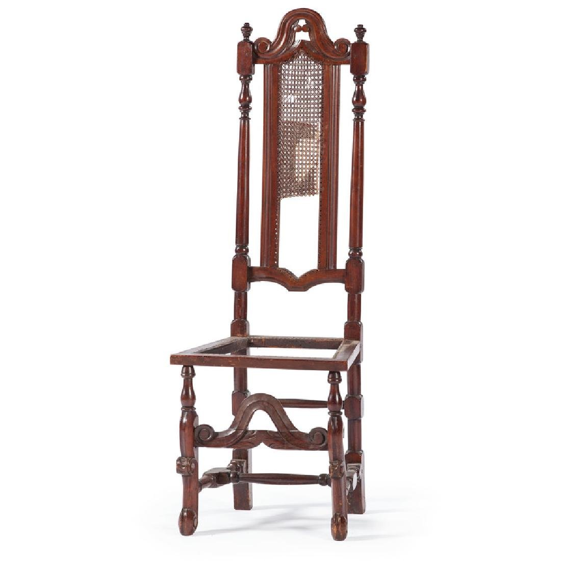 American William and Mary Maple Side Chair