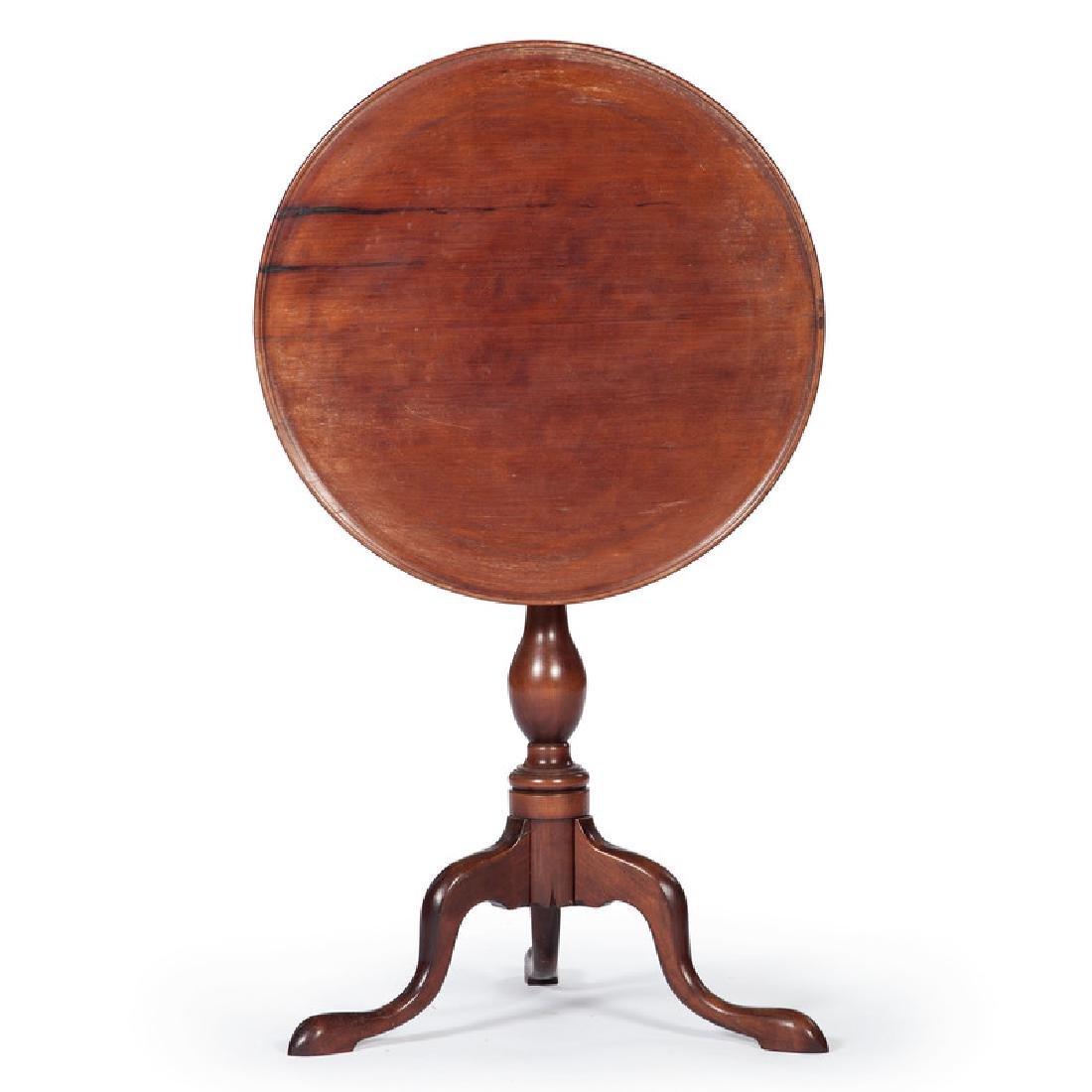 American Queen Anne Tilt Top Table