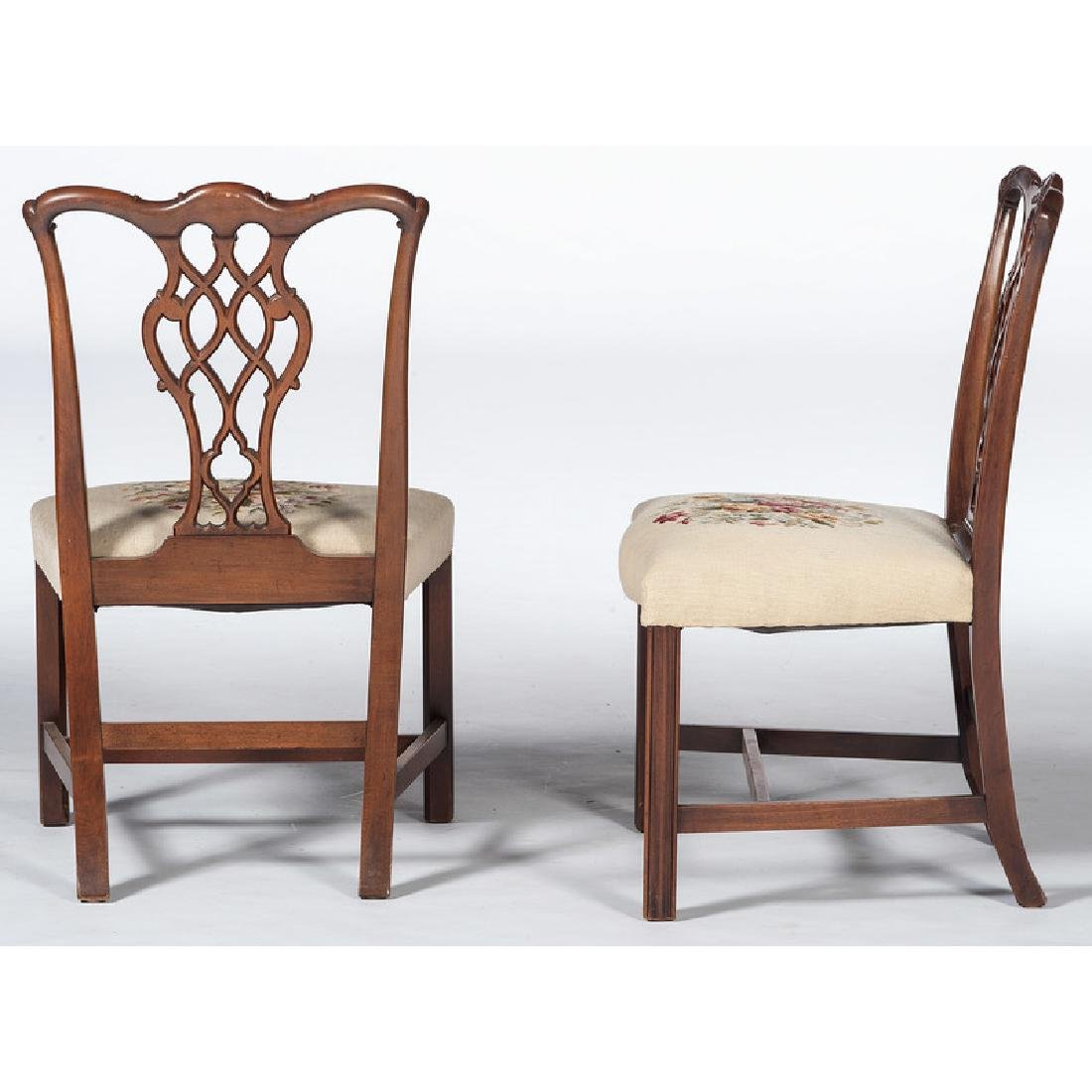 Chippendale-style Dining Chairs - 3