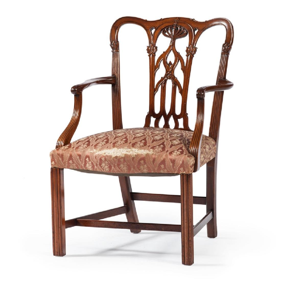 Chippendale-style Armchair