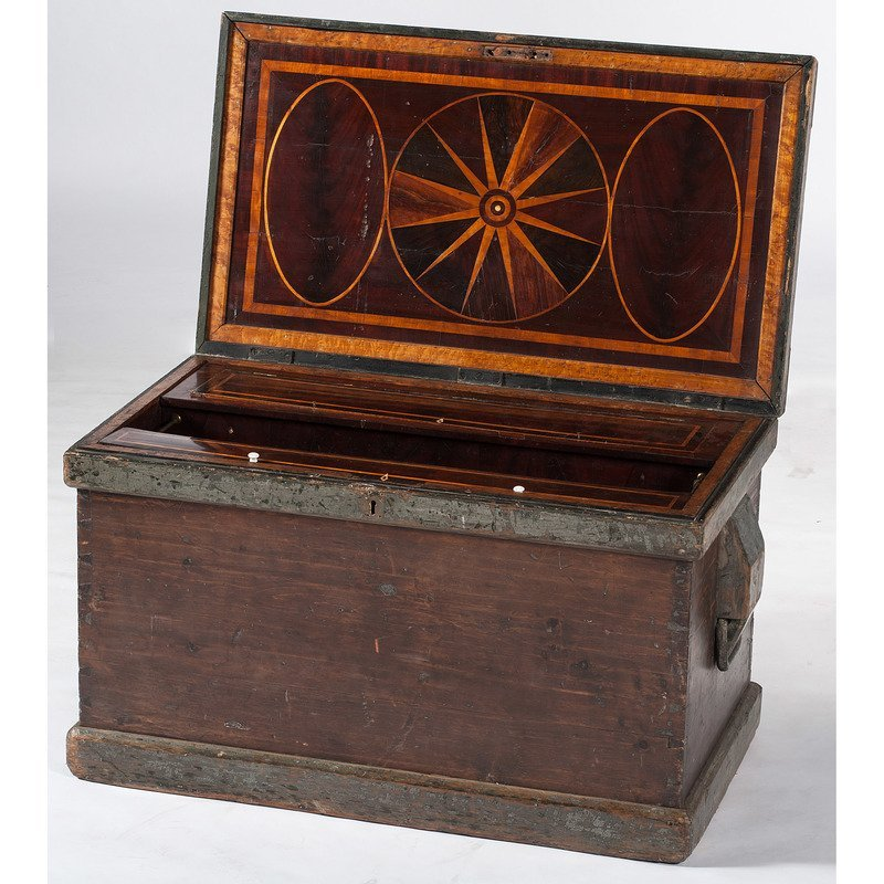 Federal Period Cabinet or Clock Makers Inlaid Tool