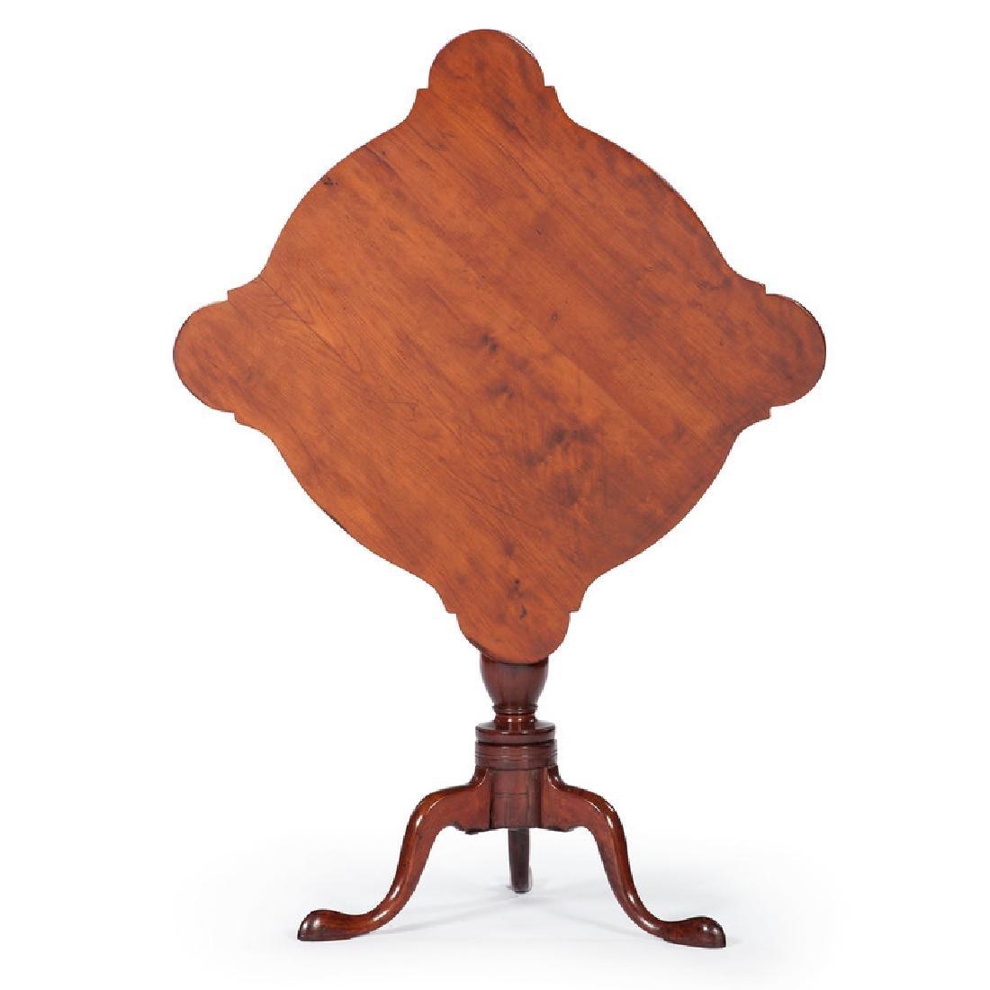 American Queen Anne Tilt-Top Tea Table