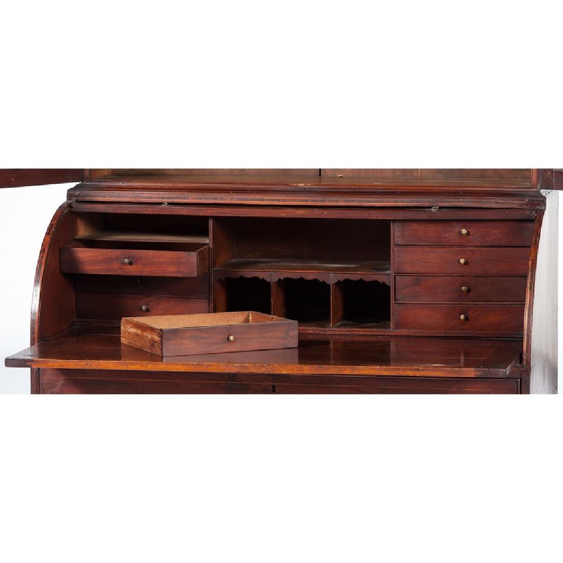 Federal Roll Top Secretary Bookcase - 3