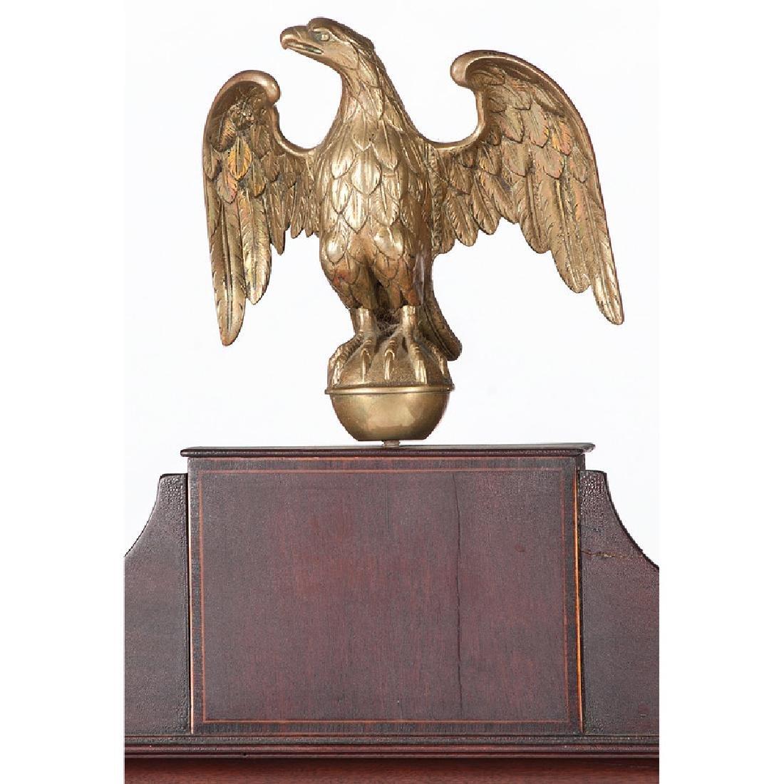 Federal Roll Top Secretary Bookcase - 4