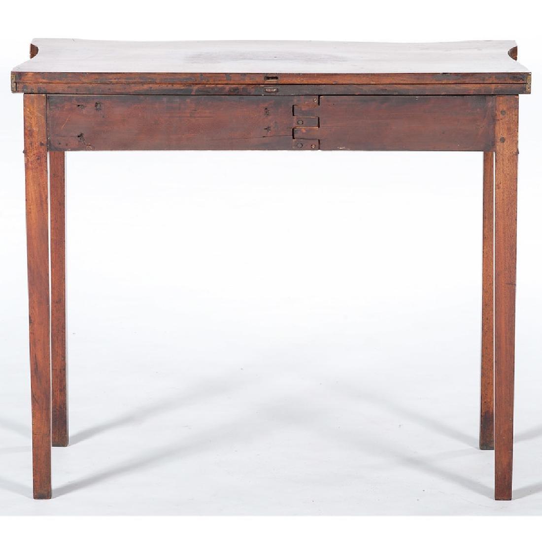 Rhode Island Mahogany Game Table - 4