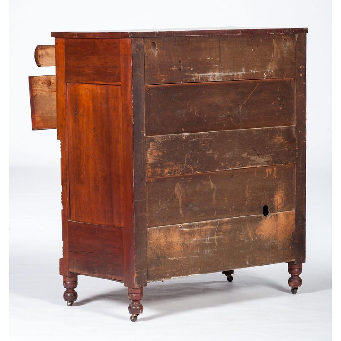 Transitional Sheraton Chest of Drawers - 2