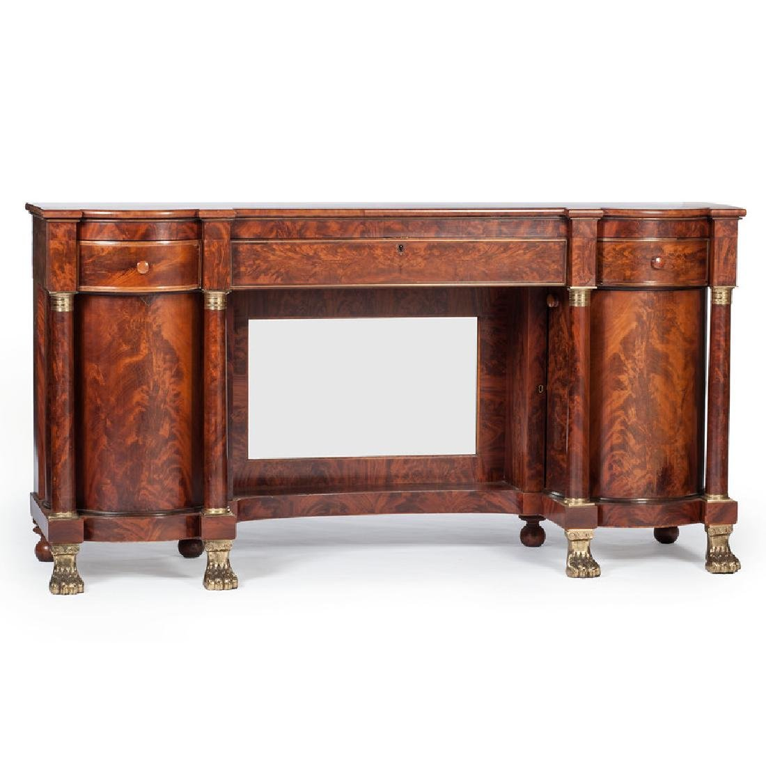 American Late Classical Sideboard