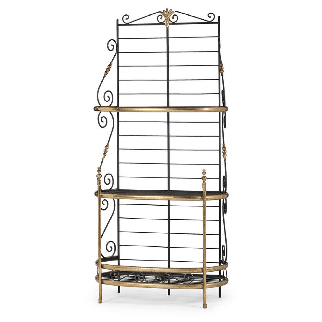 Brass Bakers Rack