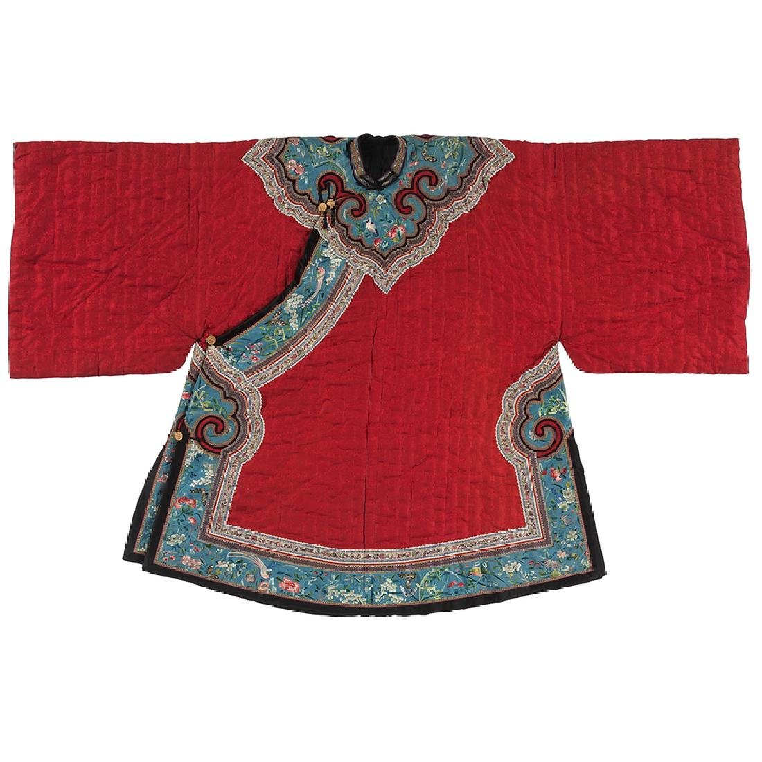 Chinese Embroidered Silk Jacket
